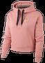 Nike Rose Gold Metallic Air Half-Zip Hoodie - Women's