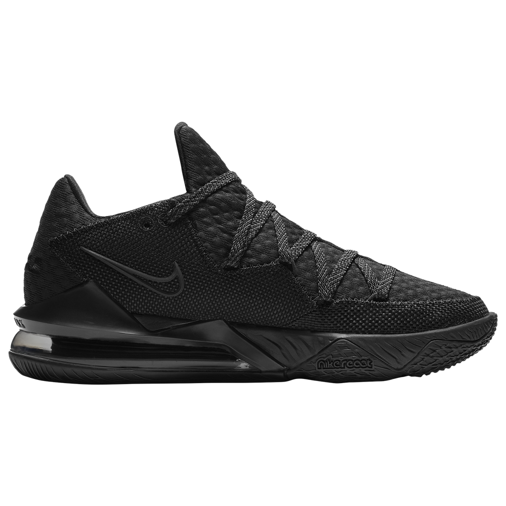 Nike LeBron 17 Low - Boys Grade School / Lebron James | Black/Black/Black