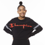Champion Cropped Varsity Long Sleeve T-Shirt - Women's