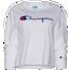 Champion Boyfriend Long Sleeve Cropped T-Shirt - Women's
