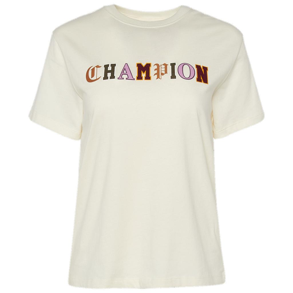 Champion Old English T Shirt by Foot Locker