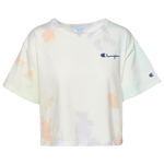 Champion Heritage Crop Cloud Dye T-Shirt - Women's
