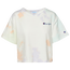 Champion Heritage Crop Cloud Dye T-Shirt - Women's