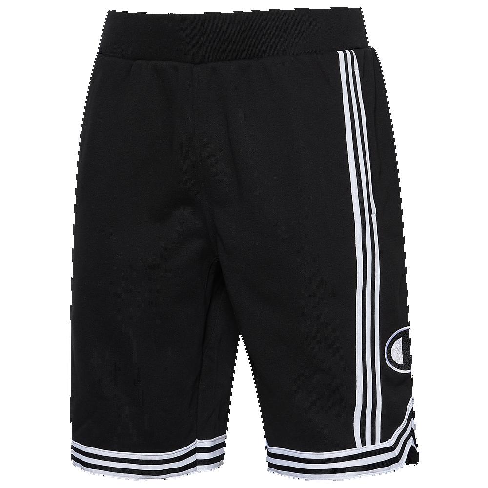 Champion Reverse Weave Basketball Shorts - Mens / Black