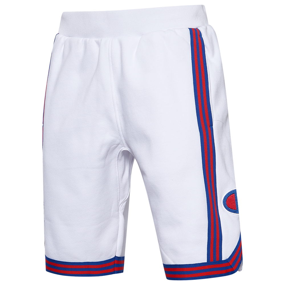 Champion Reverse Weave Basketball Shorts - Mens / White