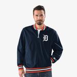 Starter MLB Jet 1/2 Zip Hooded PO Jacket - Men's