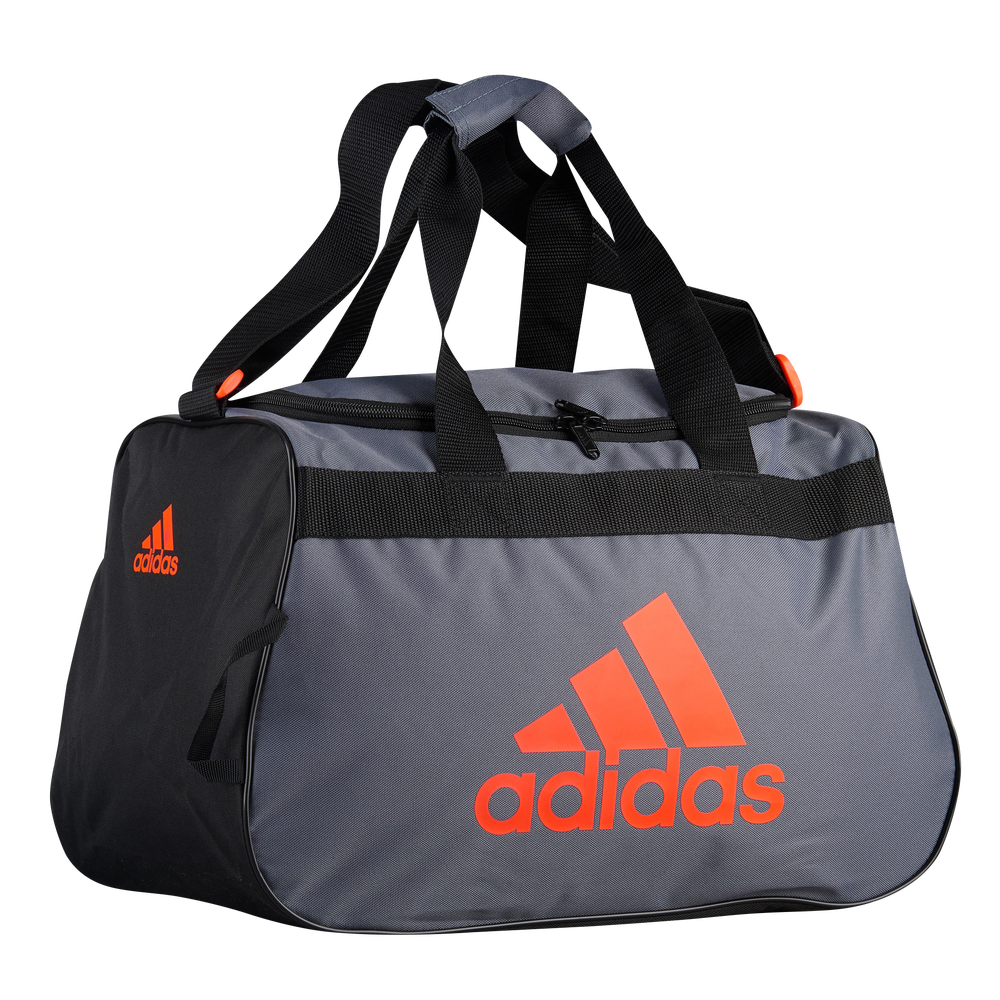 adidas Diablo Small Duffel / Onix/Black/Solar Red