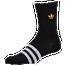 adidas Originals Metallic Trefoil 3-Pack Crew Socks - Men's
