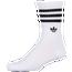 adidas Originals 3-Stripe Embroidered Trefoil 3 PK Crew - Men's