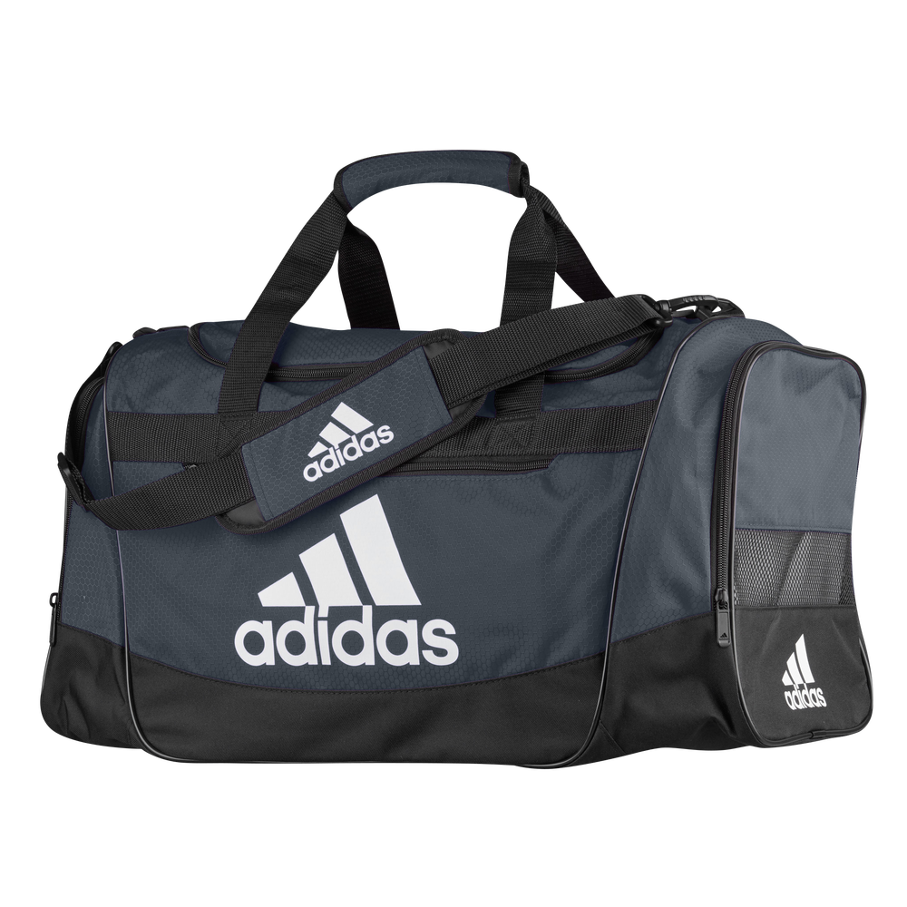 adidas Defender III Medium Duffel / Onix/Black/White