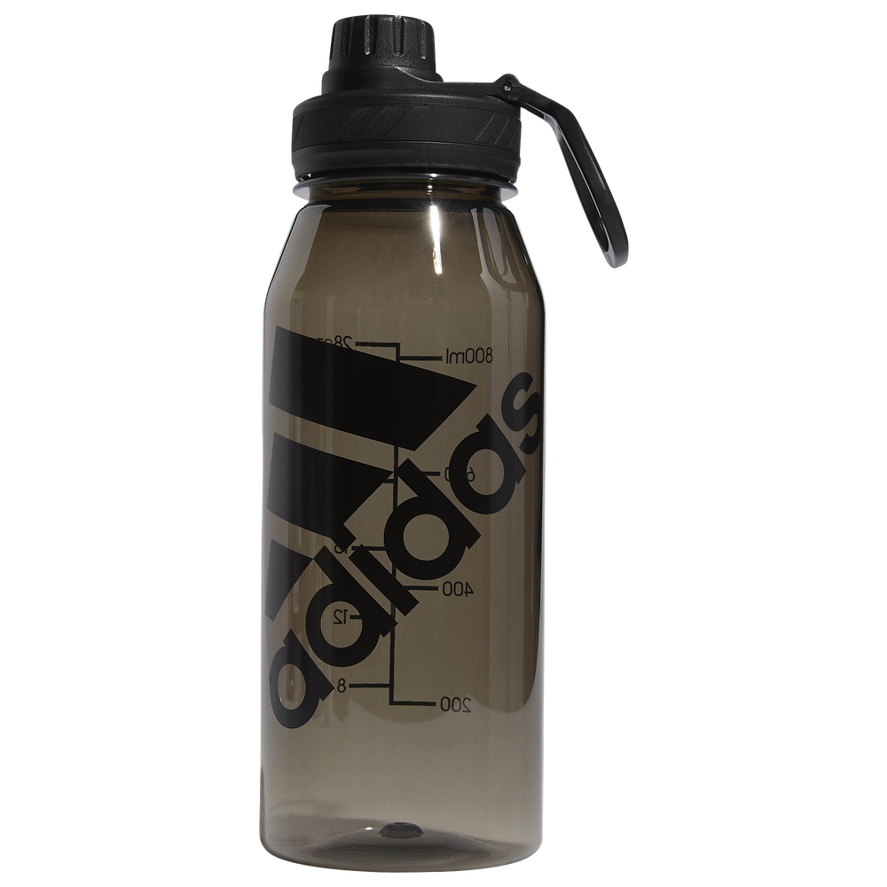adidas Superlite Plastic 1 Liter Bottle / Black/Clear