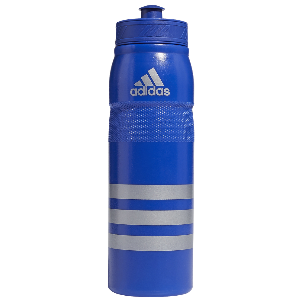 adidas Stadium Plastic Water Bottle / Bold Blue/Silver