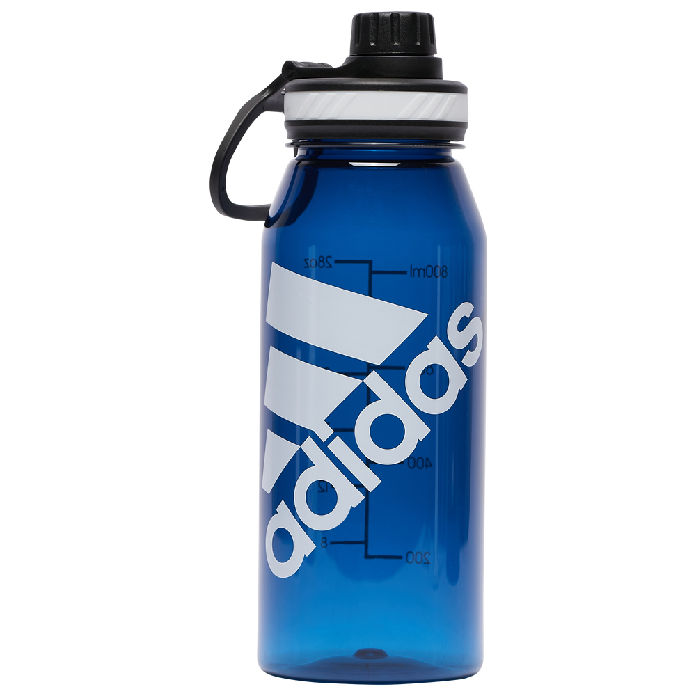 adidas Superlite Plastic 1 Liter Bottle / College Navy/White