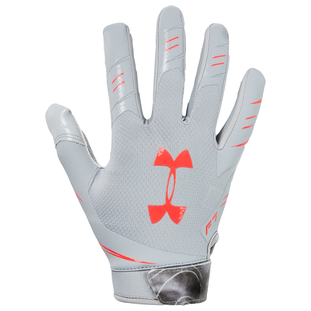 Under Armour F7 Novelty Receiver Gloves - Mens / Mod Grey/Beta | NOVELTY