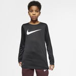 Nike Dry Legend Swoosh Solid L/S T-Shirt - Boys' Grade School