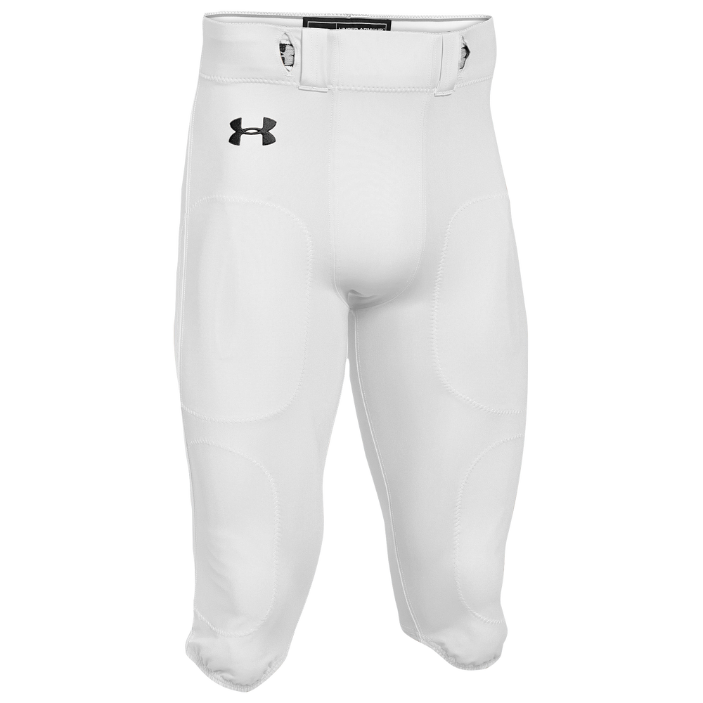 Under Armour Team Stock Instinct Pants - Mens / White/Black
