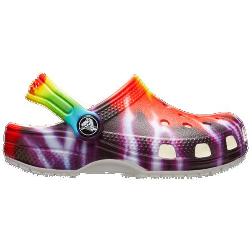 Crocs Shoes BOYS CROCS CLASSIC TIE-DYE GRAPHIC CLOG