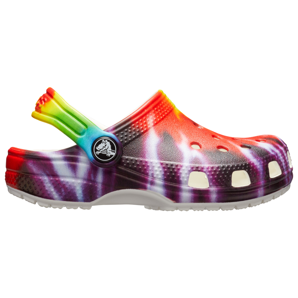 Crocs Classic Tie-Dye Graphic Clog - Boys Grade School / Multi