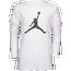 Jordan Speckle Long Sleeve T-Shirt - Boys' Grade School