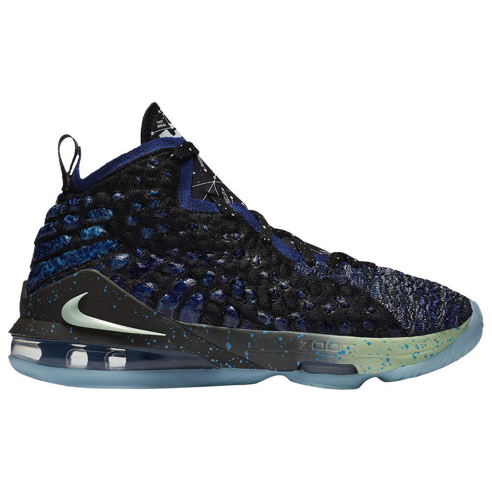 Nike LeBron 17 - Boys Grade School / Lebron James | Deep Royal Blue/Vapor Green/Game Royal