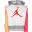 Jordan Air Crop Pullover Hoodie - Girls' Preschool