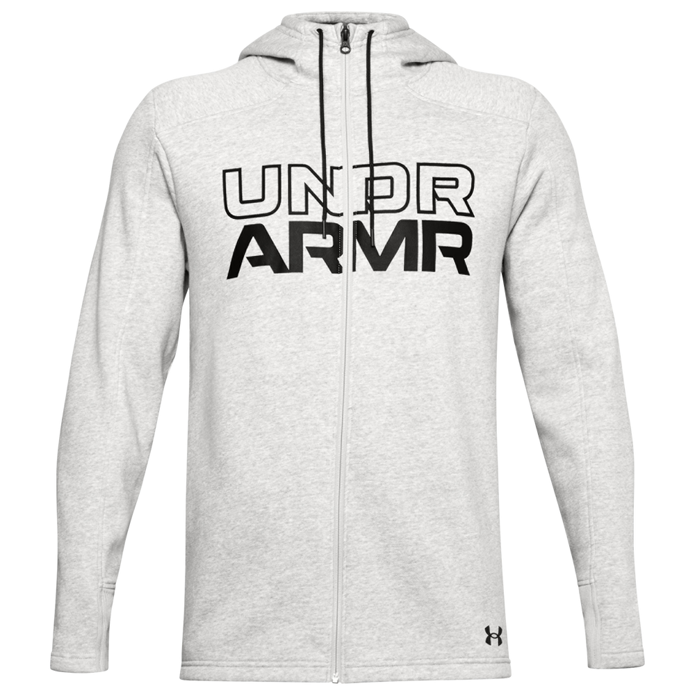 Under Armour Baseline Fleece F/Z Hoodie - Mens / Grey