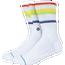 Stance Glitch Rainbow Crew Socks