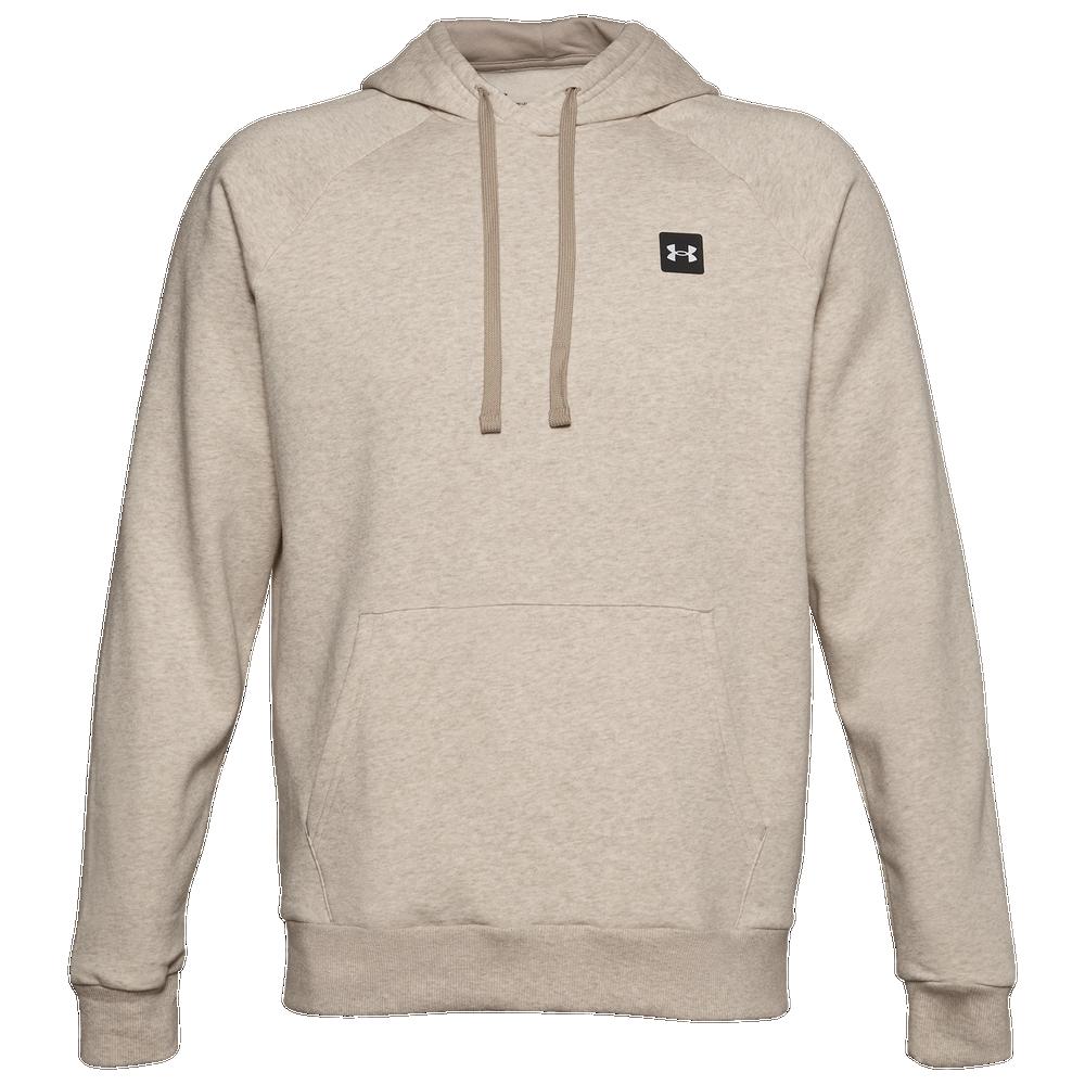 Under Armour Rival Fleece LC Logo Hoodie - Mens / Brown