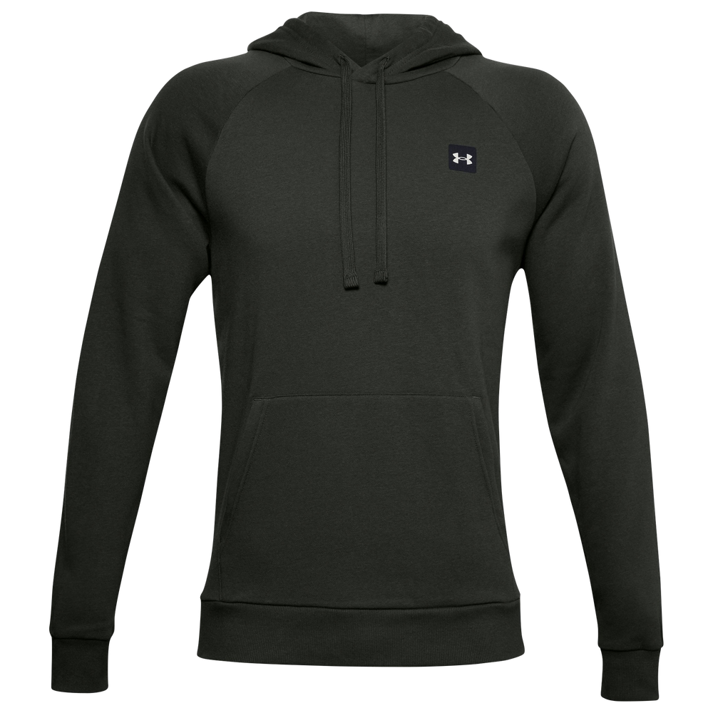 Under Armour Rival Fleece LC Logo Hoodie - Mens / Green