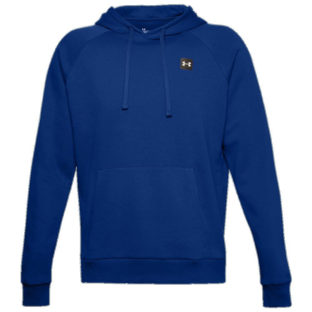 Under Armour Rival Fleece LC Logo Hoodie - Mens / Blue