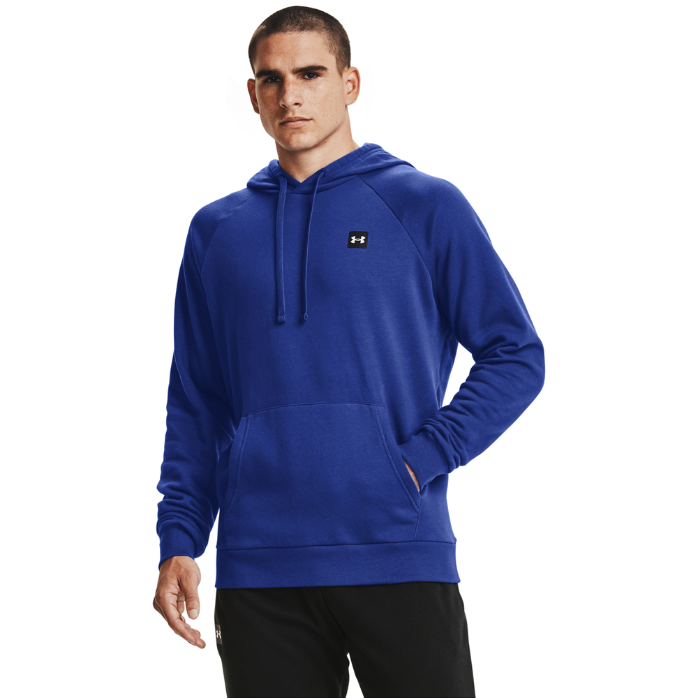 Under Armour Rival Fleece LC Logo Hoodie - Mens / Blue