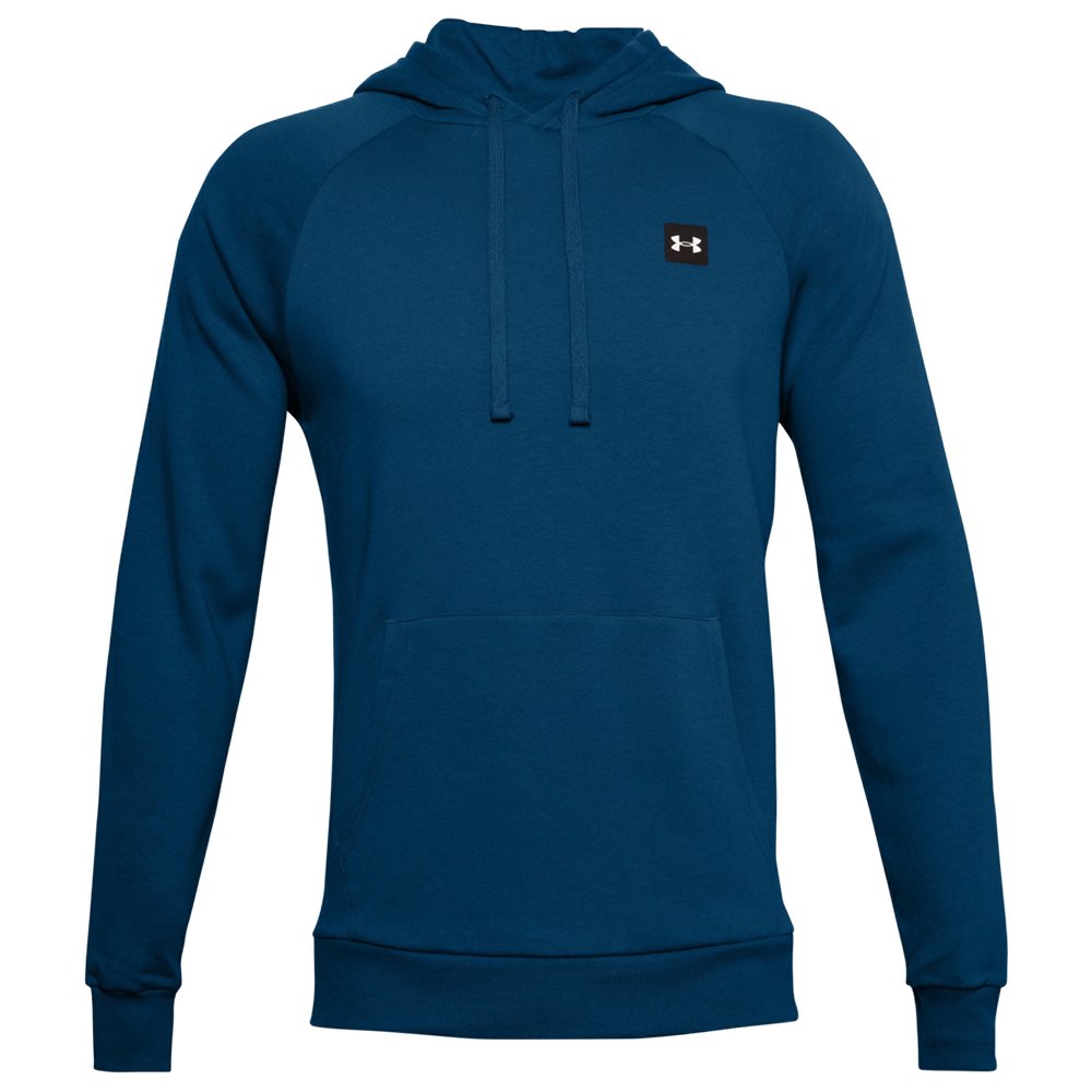 Under Armour Rival Fleece LC Logo Hoodie - Mens / Dark Blue