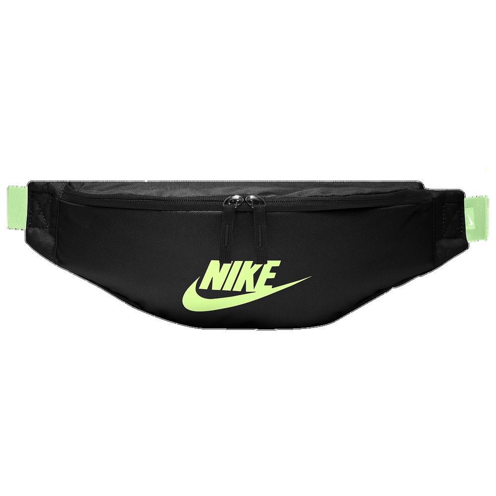 Nike Heritage Hip Pack / Black/Volt