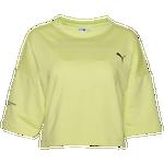 PUMA Evide Form Stripe Crop T-Shirt - Women's