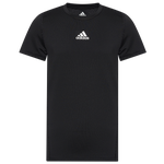 adidas Alphaskin Compression Baselayer T-Shirt - Boys' Grade School