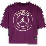 Jordan Logo Boxy T-Shirt - Girls' Grade School