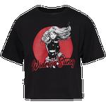 Black Widow Sting Crop T-Shirt - Women's