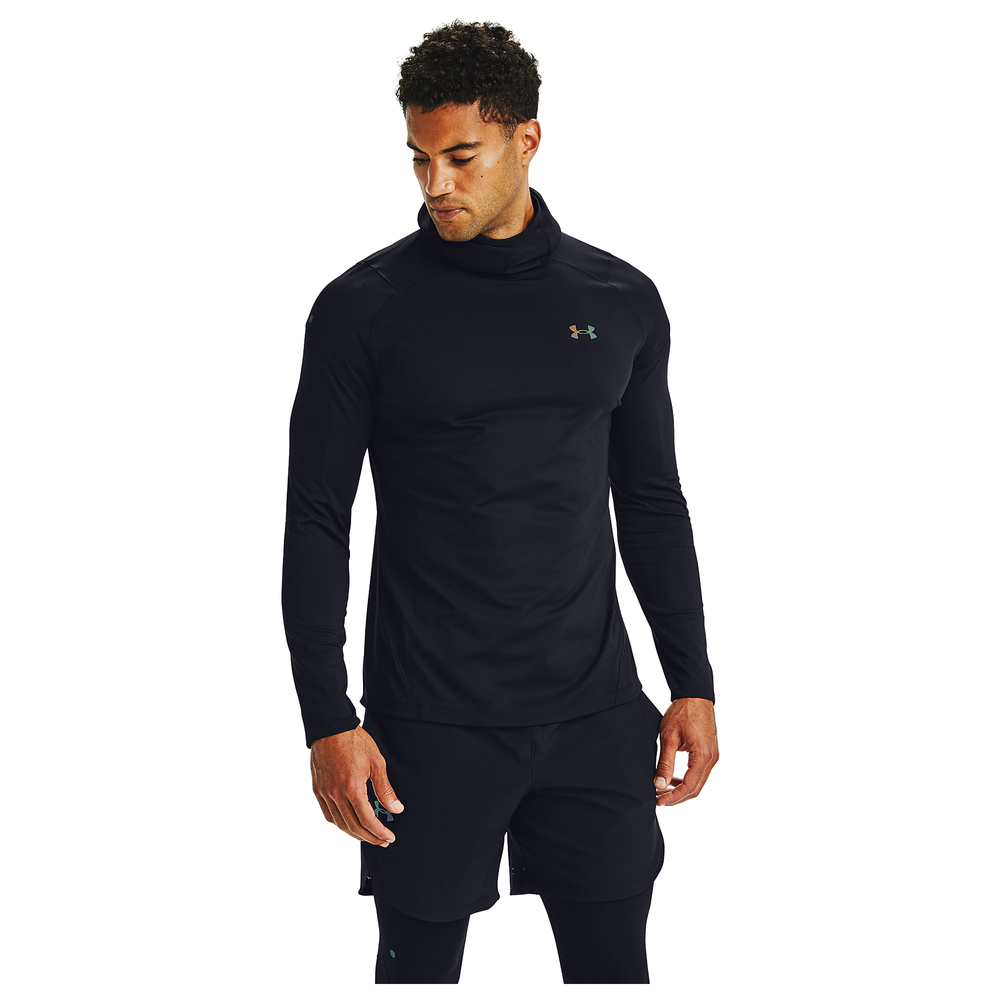 Under Armour Rush ColdGear 2.0 Hoodie - Mens / Black/Reflective