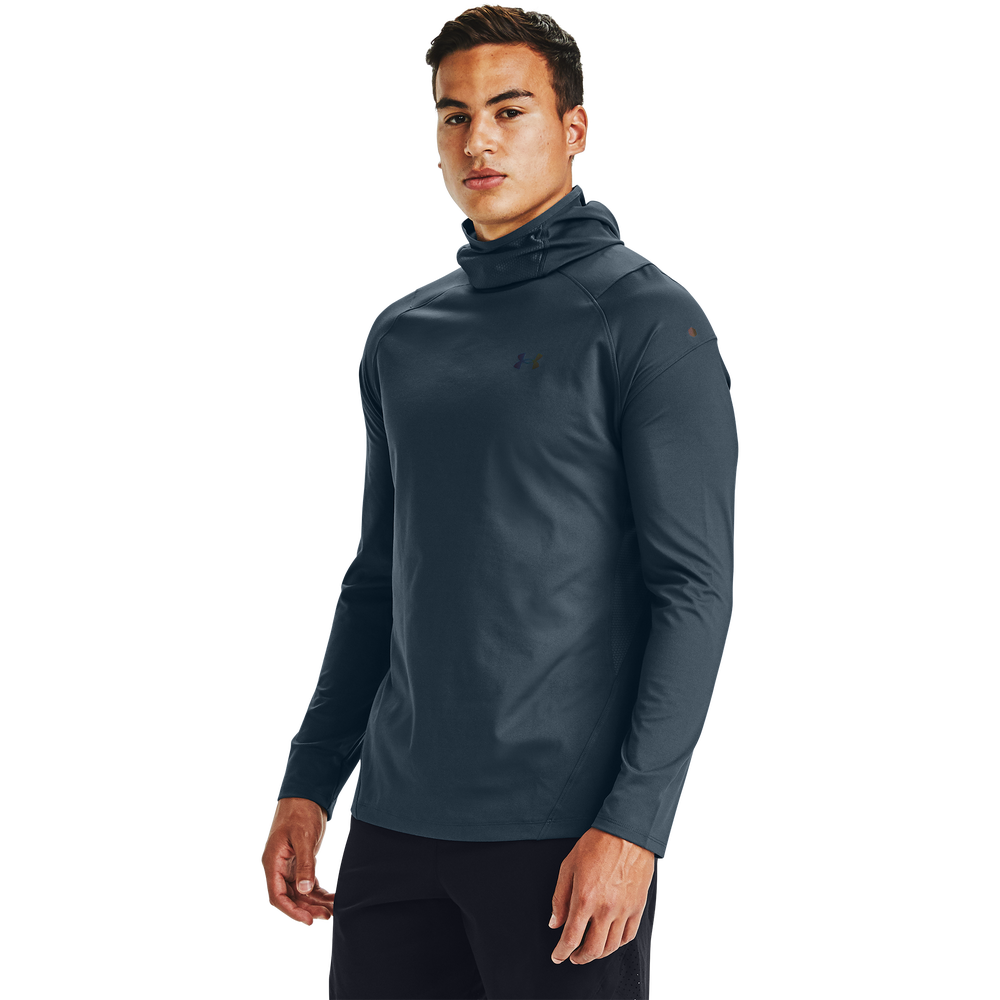 Under Armour Rush ColdGear 2.0 Hoodie - Mens / Mechanic Blue/Reflective