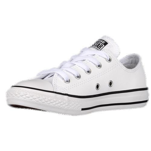 Boys Converse All Star Ox Leather - Preschool - White