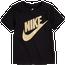 Nike Metallic Logo Short Sleeve T-Shirt