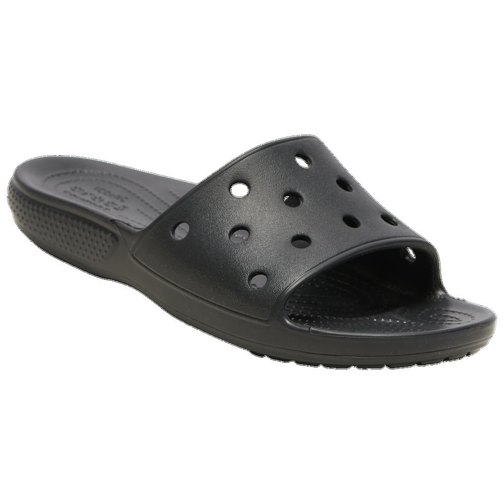 Crocs Classic Slide - Womens / Black/Black