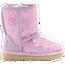 UGG Classic II Short Glitter Boots  - Girls' Toddler