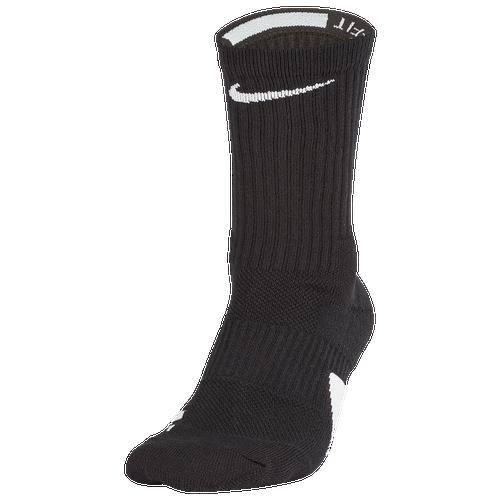 Nike Nike Elite Crew Socks Black/White Size M