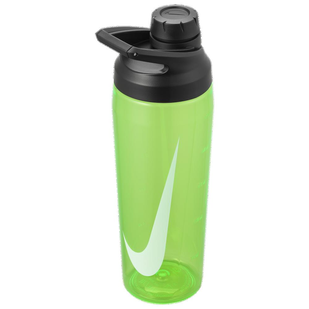 Nike TR Hypercharge Chug Bottle 24 OZ / Green Spark/Anthracite/White