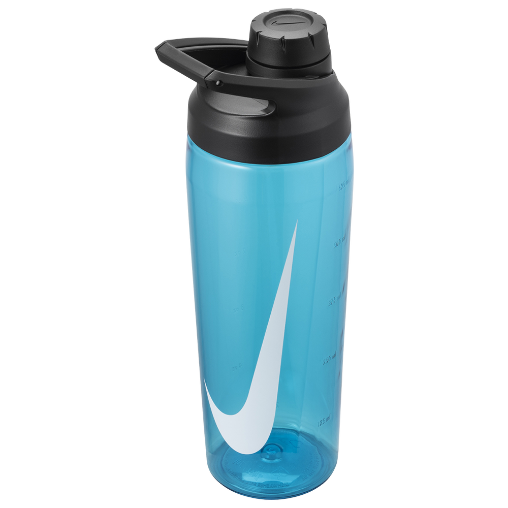 Nike TR Hypercharge Chug Bottle 24 OZ / Blue Fury/Anthracite/White