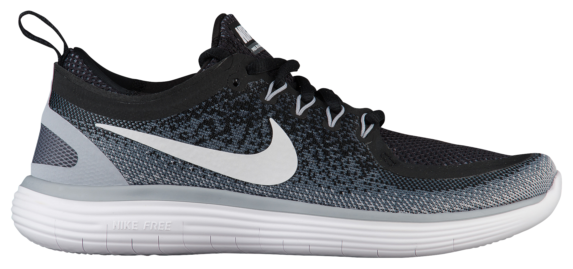 nike womens free fit 3 training shoe black&white clipart