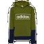 adidas Colorblock Hoodie - Boys' Grade School