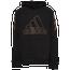 adidas 3 Stripe Block Hoodie - Boys' Grade School