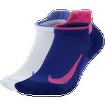 Nike Multiplier 2 Pack No-Show Socks
